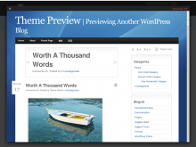 jQ Home Page Screenshot