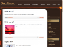Theme Home Page