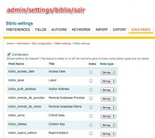 Configure apachesolr_biblio at admin/settings/biblio/solr