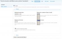 Solace Node Reference UI Screenshot