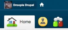 A sample home button.