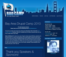 BADCamp 2010 screenshot