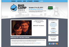 BADCamp 2011 screenshot