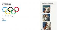 Example of Flickr Bean integration