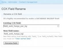 CCK Field Rename with Autocomplete text-field
