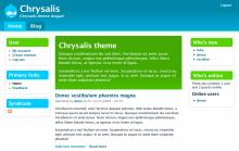 Chrysalis screenshot