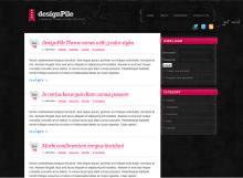 Designpile Drupal theme