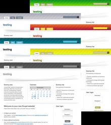 Desk02 Gradiel Color Schemes Preview