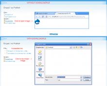 Screenshot of this module display