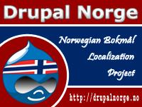 Drupal Norge | Norwegian Bokm