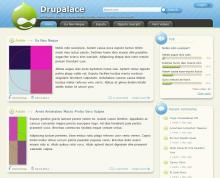 Drupalace Theme screenshot