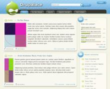 Drupalace Theme screenshot