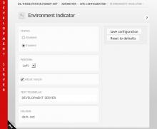 Environment Indicator