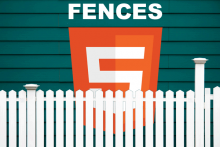 Fences HTML5 illustration