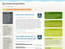 Fervens Drupal theme