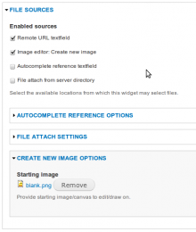 Image Editor for Image Field: Filefield Sources Integration