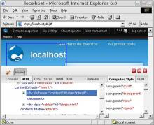 Firebug Lite on Internet Explorer 6