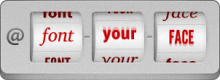 @font-your-face logo
