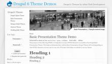 Basic Presentation Screenshot