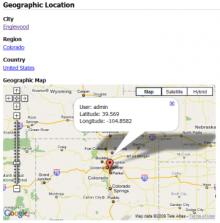 GeoUser Screenshot 1
