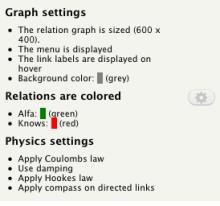 Relation Display field settings