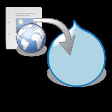 Import HTML logo