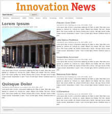 Innovation News Installation Profile: Front Page
