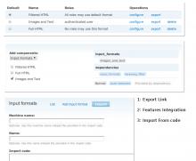 Input Formats module