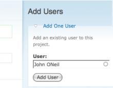 Add Users Block In Organic Group