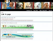Link to Us on the Dog Park USA website.