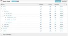 Menu Expanded - Screenshot