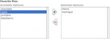 Multiselect Screenshot