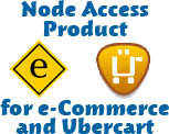 Node Access Product for e-Commerce and Ubercart