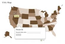 OM Maps - USA Map