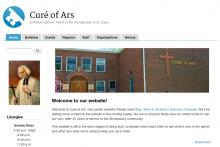 Parish theme sample website image