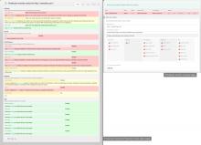 Production monitor & Production check screenshot