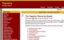 Tapestry Screenshot