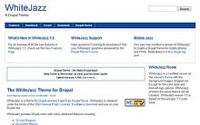 WhiteJazz Screenshot