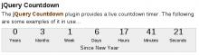 jQuery Countdown Drupal Module