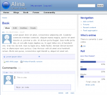 Alina theme