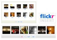 Flickr Insert