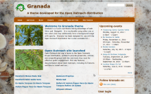 Granada theme screenshot