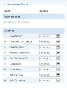 Add/change node
