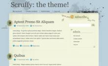 The Scruffy theme for Drupal