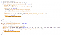 SysVar AJAX Saver - usage example code