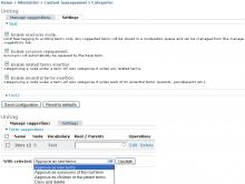 Unitag admin screenshots