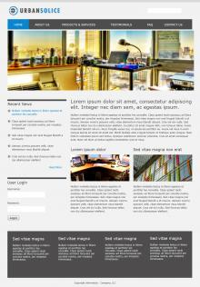 Urban Solice Drupal 7 Screenshot