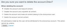 User Delete