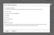 Views block-configuration screenshot