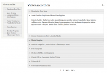 Views Accordion screenshot